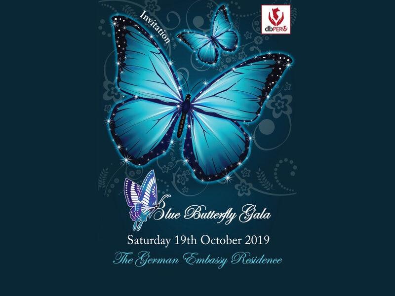 duperu blue butterfly gala